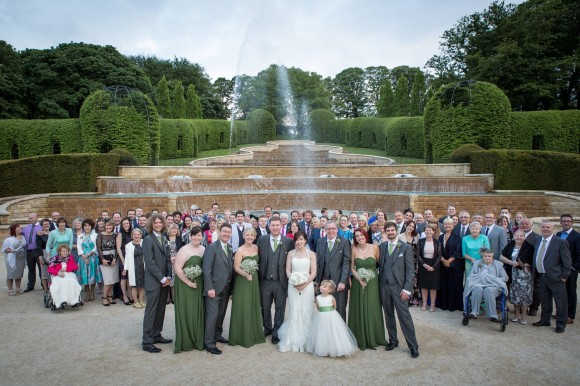 a vintage themed wedding at The Alnwick Garden (c) Lissa Alexandra Photography  (24)