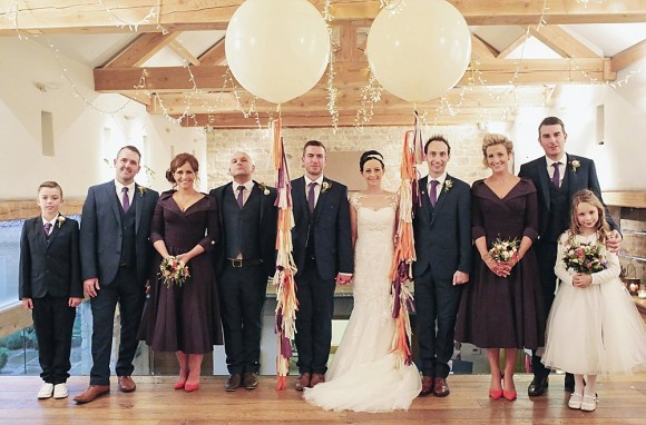 a winter wedding at Priory Cottages (c) Helen Russell Photography (72)