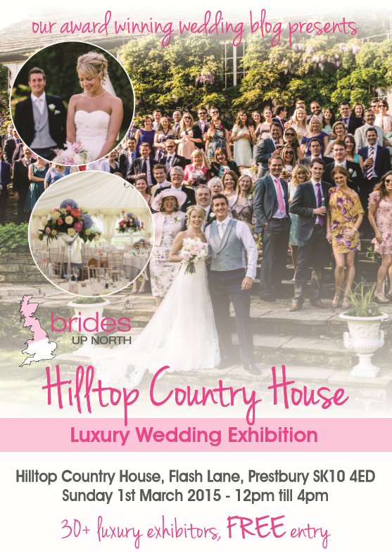 this weekend! cheshire's prettiest wedding fair at hilltop country house