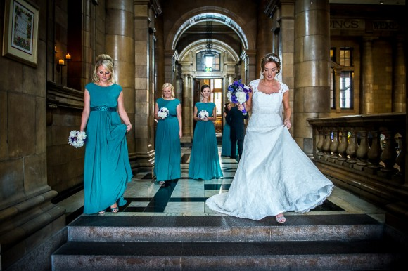 a colourful wedding at The Palace Hotel in Manchester - Kate & Chris (10)