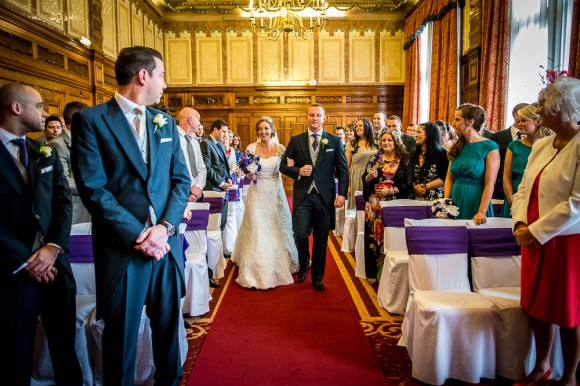 a colourful wedding at The Palace Hotel in Manchester - Kate & Chris (12)