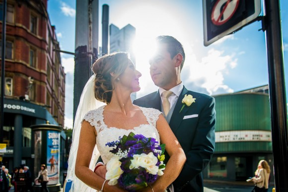 a colourful wedding at The Palace Hotel in Manchester - Kate & Chris (29)
