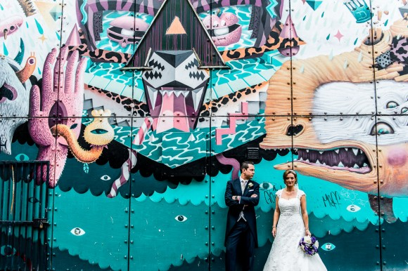 a colourful wedding at The Palace Hotel in Manchester - Kate & Chris (34)