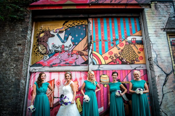 urban delight. rich jewel hues for a stylish city centre wedding at the palace hotel, manchester – kate & chris