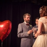 a cute and kitsch wedding at The Lantern Theatre (c) Weddings By Smith (15)