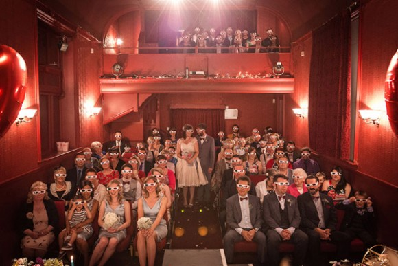 a cute and kitsch wedding at The Lantern Theatre (c) Weddings By Smith (19)
