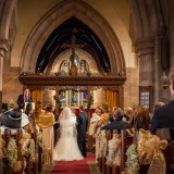 a glittering winer wedding at Ellingham Hall (c) Focal Point Photography (42)