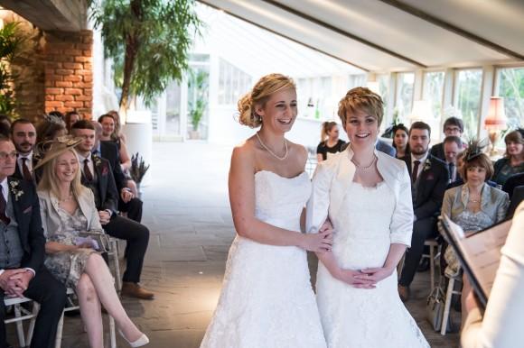 happy & hygge. a warm winter wedding at newton hall, northumberland – emma & rachel