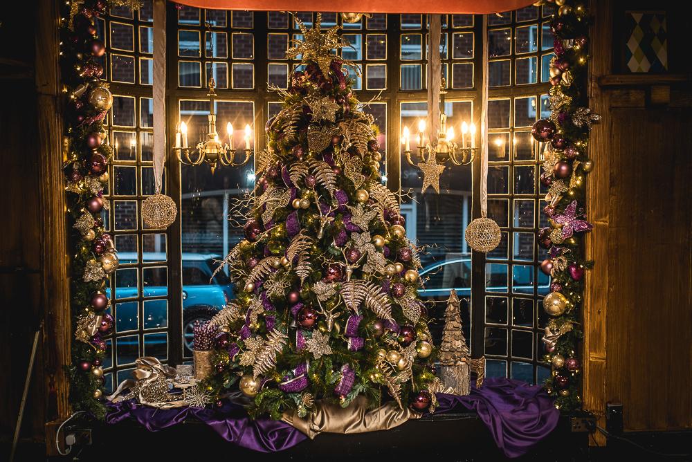 Belle epoque winter wedding