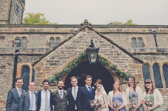 a classy wedding at Hassop Hall (c) Kate Cooper Photography (24)
