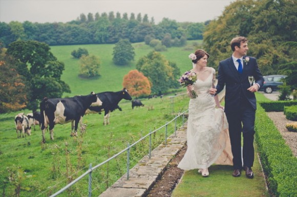 a classy wedding at Hassop Hall (c) Kate Cooper Photography (29)