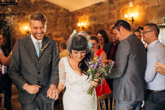 a colourful country wedding at Danby Castle (c) Weddings by Smith (14)