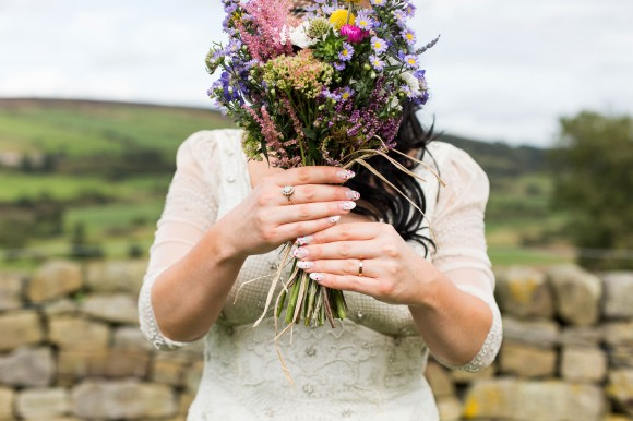 a colourful country wedding at Danby Castle (c) Weddings by Smith (19)