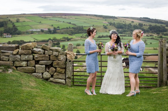 a colourful country wedding at Danby Castle (c) Weddings by Smith (21)