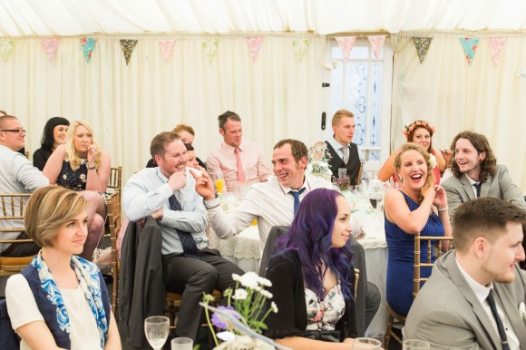 a colourful country wedding at Danby Castle (c) Weddings by Smith (44)