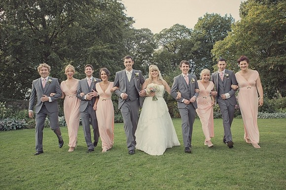 a pretty pink wedding at East Riddlesden Hall (c) Lissa Alexandra Photography (78)