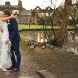 a pretty pink wedding at East Riddlesden Hall (c) Weddings by Smith  (28)