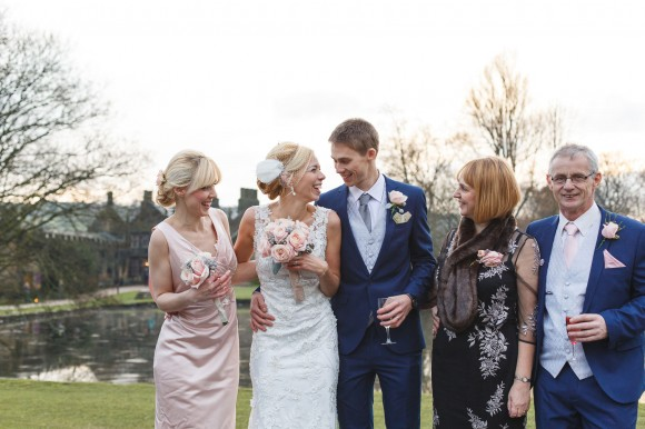 pink to perfection. a pretty winter wedding at east riddlesden hall – stephanie & robert