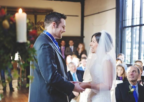stately celebrations. a winter wedding at samlesbury hall – tessa & joe