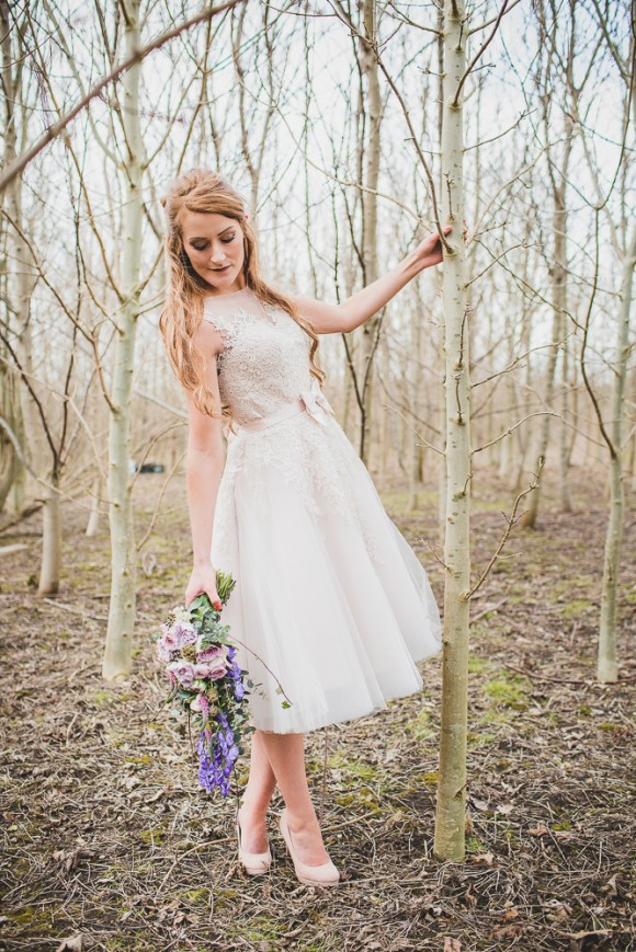 Evelyn Taylor Bridal - Woodland Shoot (c) Sarah Beth Photography (5)