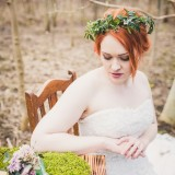 Evelyn Taylor Bridal - Woodland Shoot (c) Sarah Beth Photography (9)