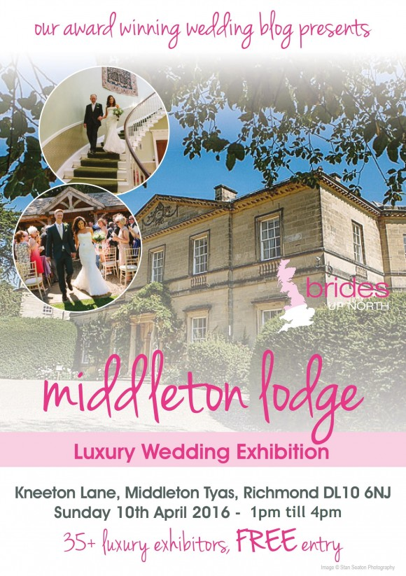 Middleton Lodge Luxury Wedding Exhibition Spring 2016