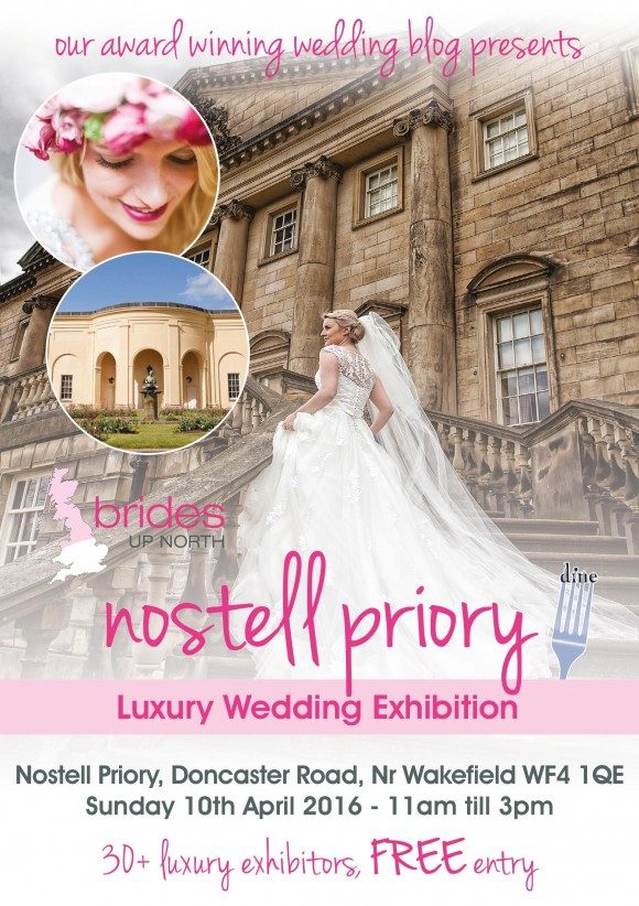 Nostell Priory Luxury Wedding Exhibition Spring 2016