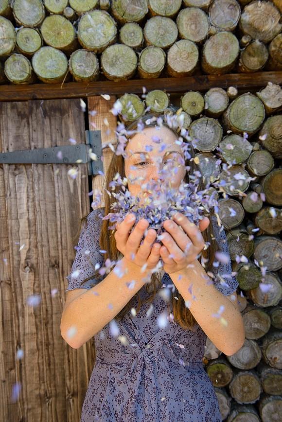 ShropshirePetals.com Blowing Frosted Blue confetti £11.50 per litre
