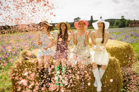 ShropshirePetals.com Girls Having Fun Confetti from £11.50 per litre (7)