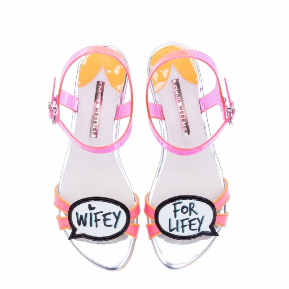 Sophia Webster Bridal Wifey For Lifey Sandal