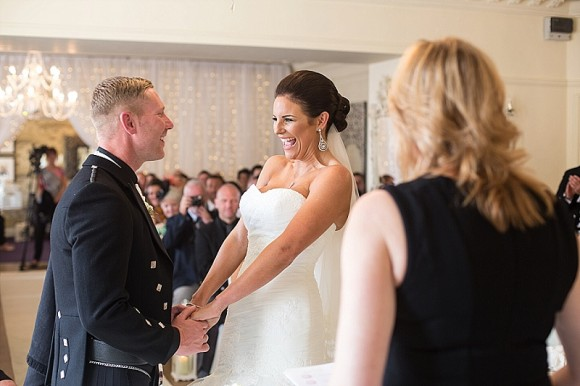 crisp & classy. enzoani for a romantic wedding with scottish touches at eaves hall – melissa & stuart