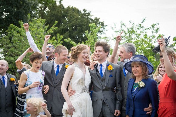 the music sounds better with you. a sunny festival wedding in cheshire – nicola & andrew