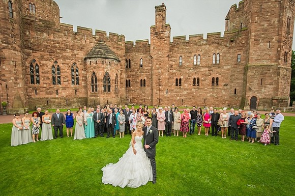 An Elegant Wedding at Peckforton Castle (c) Martin Hambleton Photography (47)