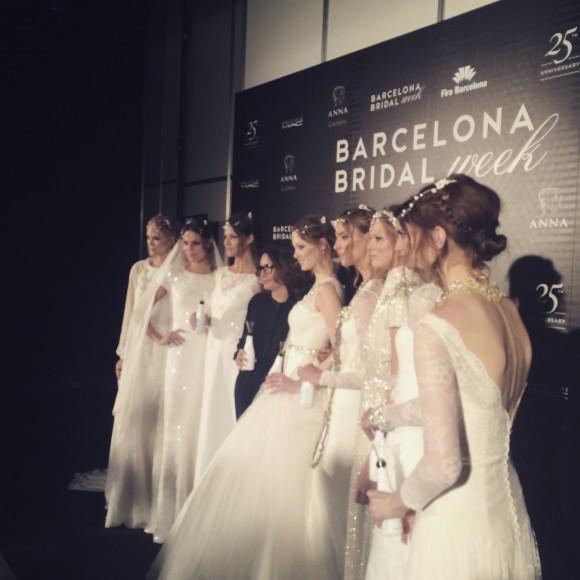 catwalk stalk. #barcelonabridalweek