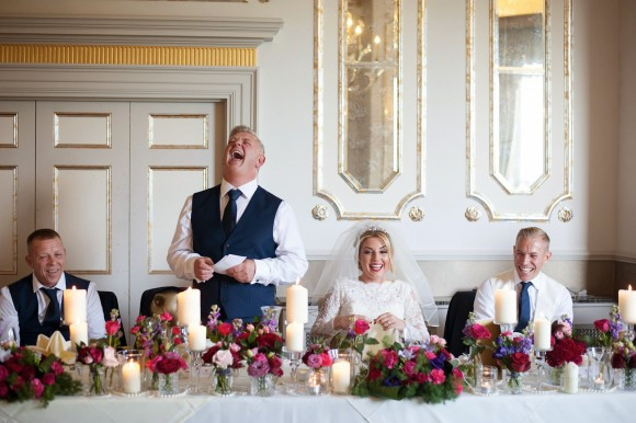 a palette that pops. ellis bridal for a colourful wedding in the north east – ashleigh & mark