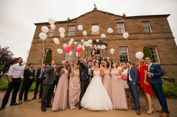 a pretty wedding at Newton Hall (c) Kyle Hassall Photography (45)