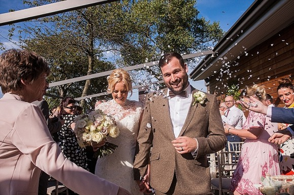 an outdoor wedding at Newton Hall (c) Lee Scullion Photography (12)