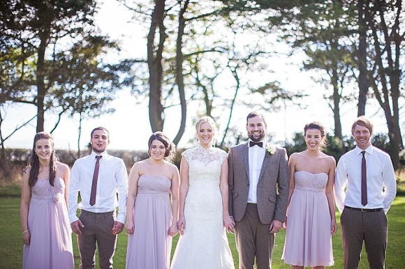 an outdoor wedding at Newton Hall (c) Lee Scullion Photography (19)