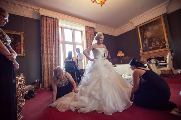 A Glam Wedding at Allerton Castle (c) Laura Calderwood Photography (16)