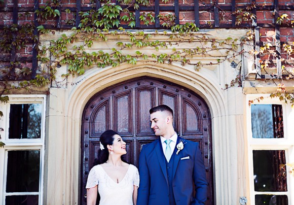 vintage elegance. eliza jane howell for a green and gold wedding at the villa – nicola & marc