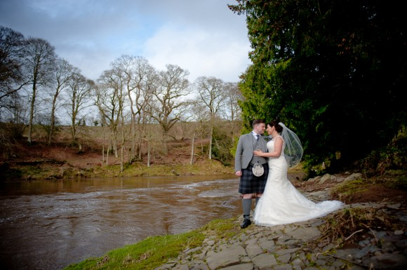 tartan & tweed. ronald joyce for a classic wedding in scotland – julia & paul