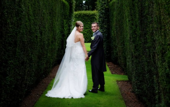 love blossoms. a pretty garden wedding at headlam hall – faye & mike