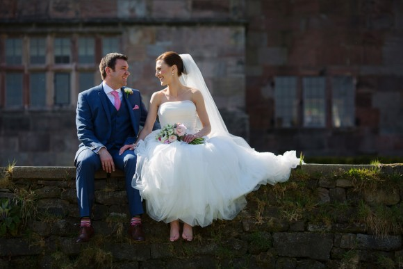 joyful love. a pretty blush and navy barn wedding at the ashes – rachel & brandon