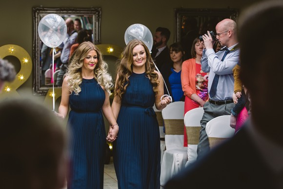 Bright colours & balloons for a Wedding in Chesterfield (c) Lee Brown Photography (16)