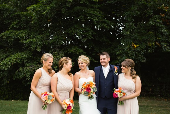 outdoor elegance. mori Lee for a bright & modern wedding at ringwood hall – natalie & joe