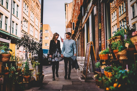 A Colourful Northern Quarter Engagement (c) Steve Bridgwood Photography (11)