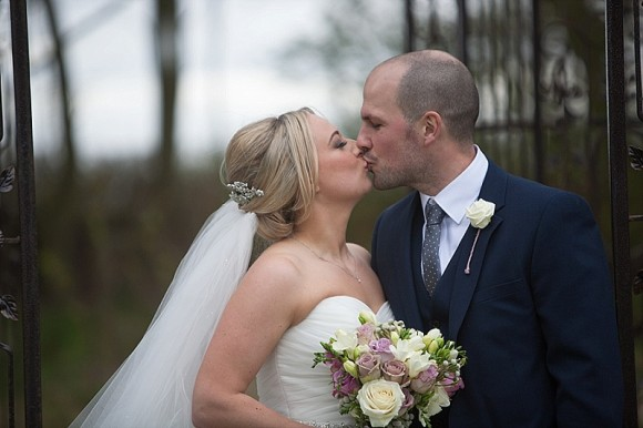 pretty personal. mori lee for a homemade wedding at newton hall – shona & lee