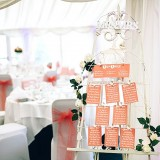 A Glam Coral Wedding at The Thistle (c) Rachel Victoria Photography (10)