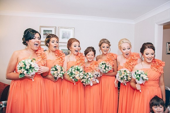A Glam Coral Wedding at The Thistle (c) Rachel Victoria Photography (17)