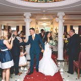 A Glam Coral Wedding at The Thistle (c) Rachel Victoria Photography (26)